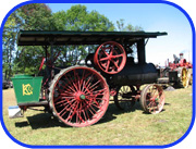 old steam engine tractor
